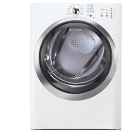 Electrolux 8-cu ft Stackable Gas Dryer (Island White)