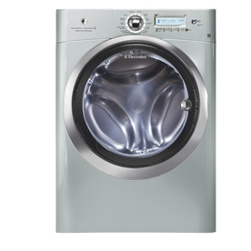 Electrolux 4.4-cu ft High-Efficiency Stackable Front-Load Washer with Steam Cycle (Silver Sands) ENERGY STAR
