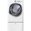 Electrolux 8-cu ft Stackable Electric Dryer with Steam Cycles (Island White)
