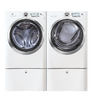 Electrolux 8-cu ft Stackable Gas Dryer with Steam Cycles (Island White)