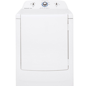 Frigidaire Affinity 7-cu ft Gas Dryer (White) FARG1011MW