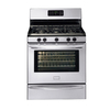 Frigidaire Gallery 30-in 5-Burner Freestanding 5 cu ft Self-Cleaning Gas Range (Stainless Steel)