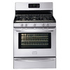 Frigidaire Gallery 30-in 5-Burner Freestanding 5 cu ft Self-Cleaning Convection Gas Range (Stainless Steel)