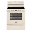 Frigidaire Gallery 30-in Smooth Surface Freestanding 5-Element 5.7 cu ft Self-Cleaning Convection Electric Range (Bisque)