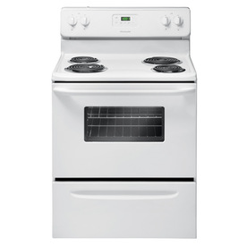 Frigidaire Freestanding 4.8-cu ft Electric Range (White) (Common: 30-in; Actual: 29.88-in)