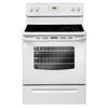 Frigidaire Smooth Surface Freestanding 4.8-cu ft Electric Range (White) (Common: 30-in; Actual: 29.88-in)