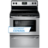 Frigidaire Smooth Surface Freestanding 4.8-cu ft Electric Range (Stainless Steel) (Common: 30-in; Actual: 29.88-in)