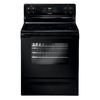 Frigidaire 3018 Series 30-in Smooth Surface Freestanding 4-Element 5.3 cu ft Self-Cleaning Electric Range (Black)