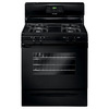 Frigidaire 30-in 4-Burner Freestanding 5 cu ft Self-Cleaning Gas Range (Black)