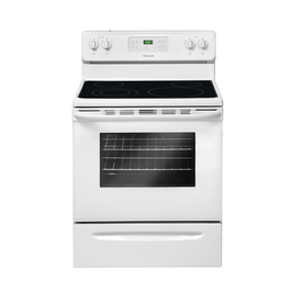 Frigidaire 3018 Series Smooth Surface Freestanding 5.4-cu ft Self-Cleaning Electric Range (White) (Common: 30-in; Actual: 29.88-in)