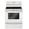 Frigidaire 3017 Series 30-in Smooth Surface Freestanding 4-Element 5.3 cu ft Self-Cleaning Electric Range (White)