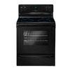 Frigidaire 3017 Series 30-in Smooth Surface Freestanding 4-Element 5.3 cu ft Self-Cleaning Electric Range (Black)