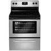 Frigidaire 3017 Series 30-in Smooth Surface Freestanding 4-Element 5.3 cu ft Self-Cleaning Electric Range (Silver Mist)