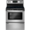 Frigidaire Smooth Surface Freestanding 5.3-cu ft Self-Cleaning Electric Range (Stainless Steel) (Common: 30-in; Actual: 29.88-in)