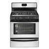 Frigidaire 30-in 5-Burner Freestanding 4.2 cu ft Manual Clean Gas Range (Silver Mist)