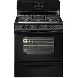 Frigidaire 30-in 5-Burner Freestanding 4.2 cu ft Gas Range (Black)