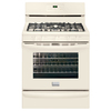 Frigidaire Gallery 30-in 5-Burner Freestanding 5 cu ft Self-Cleaning Convection Gas Range (Bisque/Biscuit)