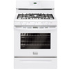 Frigidaire Gallery 5-Burner Freestanding 5-cu Self-Cleaning Gas Range (White) (Common: 30-in; Actual: 29.87-in)