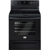 Frigidaire Gallery Smooth Surface Freestanding 5-Element 5.4-cu ft Self-Cleaning Electric Range (Black) (Common: 30-in; Actual: 29.87-in)