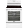 Frigidaire Gallery Smooth Surface Freestanding 5-Element 5.8-cu ft Self-Cleaning Convection Electric Range (White) (Common: 30-in; Actual: 29.87-in)