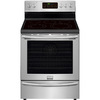 Frigidaire Gallery Smooth Surface Freestanding 5-Element 5.8-cu ft Self-Cleaning Convection Electric Range (Stainless Steel) (Common: 30-in; Actual: 29.87-in)