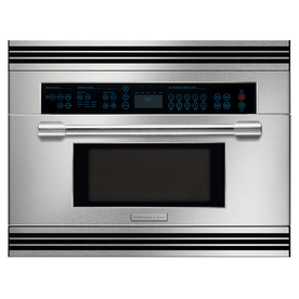 Electrolux Icon 1.5-cu ft Built-In Convection Microwave with Sensor Cooking Controls (Stainless Steel)