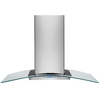 Frigidaire Ducted Island Range Hood (Stainless Steel) (Common: 42-in; Actual 41.875-in)