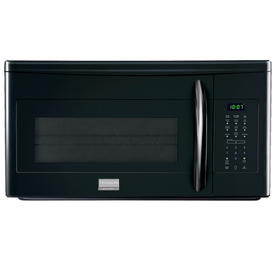 Frigidaire Gallery 1.7-cu ft Over-The-Range Microwave with Sensor Cooking Controls (Black) (Common: 30-in; Actual: 29.88-in)