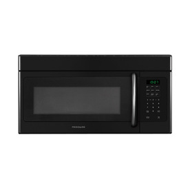 Frigidaire 1.6-cu ft Over-The-Range Microwave with Sensor Cooking Controls (Black) (Common: 30-in; Actual: 29.88-in)