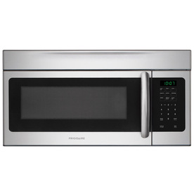 Frigidaire 1.6-cu ft Over-The-Range Microwave with Sensor Cooking Controls (Stainless) (Common: 30-in; Actual: 29.88-in)