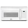 Frigidaire Gallery 1.7-cu ft Over-The-Range Microwave with Sensor Cooking Controls (White) (Common: 30-in; Actual: 29.94-in)