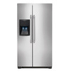 Frigidaire 26-cu ft Side-by-Side Refrigerator Single Ice Maker (Stainless Steel)