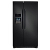 Frigidaire 22.1-cu ft Side-by-Side Refrigerator Single Ice Maker (Black)