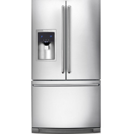 Electrolux 22.6-cu ft Counter-Depth French Door Refrigerator with Dual Ice Maker (Stainless Steel) ENERGY STAR