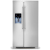 Electrolux 25.93 cu ft Side-By-Side Refrigerator (Stainless Steel) ENERGY STAR