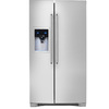 Electrolux 22.6-cu ft Counter-Depth Side-by-Side Refrigerator with Single Ice Maker (Stainless Steel) ENERGY STAR