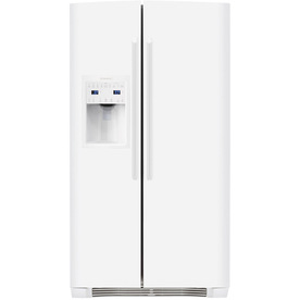 Electrolux 22.6-cu ft Side-By-Side Counter-Depth Refrigerator with Single Ice Maker (White) ENERGY STAR