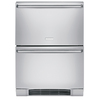 Electrolux 23.81-in Freestanding Double Drawer Refrigerator (Stainless Steel)