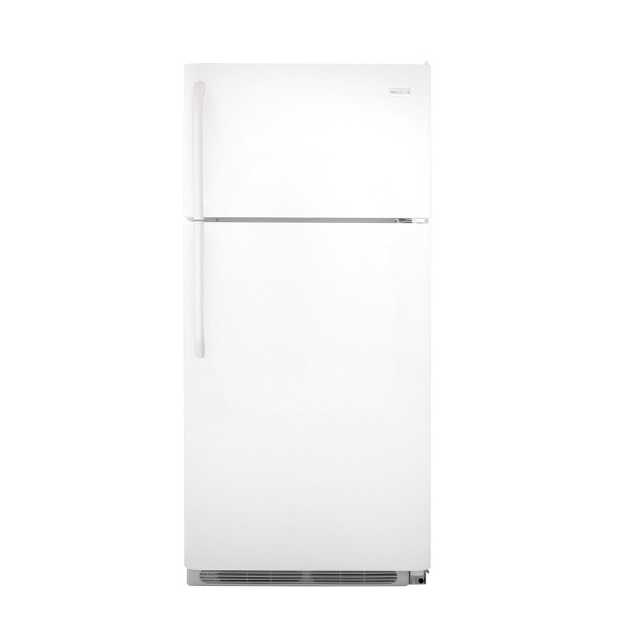 Shop Frigidaire 18 3 Cu Ft Top Freezer Refrigerator White