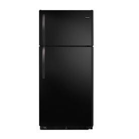 Frigidaire 14.8-cu ft Top-Freezer Refrigerator (Black) ENERGY STAR