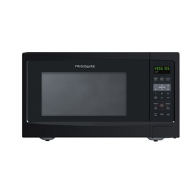 Frigidaire 1.6 cu ft 1100-Watt Countertop Microwave (Black)