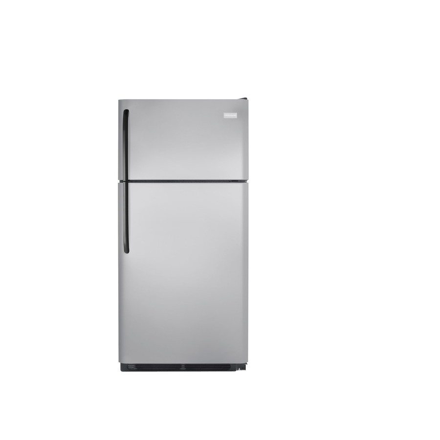 Shop Frigidaire 18 2 Cu Ft Top Freezer Refrigerator