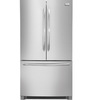 Frigidaire Gallery 22.6-cu ft Counter-Depth French Door Refrigerator with Single Ice Maker (Stainless Steel) ENERGY STAR