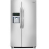 Frigidaire Gallery 22.6-cu ft Side-by-Side Refrigerator wiht Single Ice Maker (Stainless Steel) ENERGY STAR