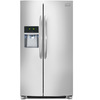 Frigidaire Gallery 22.2-cu ft Counter-Depth Side-By-Side Refrigerator with Single Ice Maker (Stainless Steel)