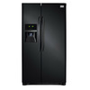 Frigidaire Gallery 26-cu ft Side-By-Side Refrigerator with Single Ice Maker (Black) ENERGY STAR