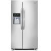 Frigidaire Gallery 26-cu ft Side-By-Side Refrigerator with Single Ice Maker (Stainless Steel) ENERGY STAR