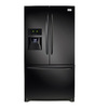 Frigidaire Gallery 27.7-cu ft French Door Refrigerator with Single Ice Maker (Black) ENERGY STAR
