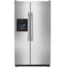 Frigidaire 22.07-cu ft Side-By-Side Refrigerator with Single Ice Maker (Stainless Steel)