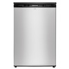 Frigidaire 4.5-cu ft Compact Refrigerator with Freezer Compartment (Silver Mist) ENERGY STAR